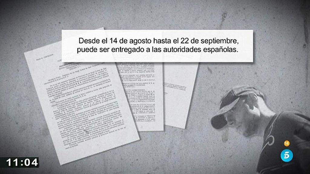 Los detalles del auto en el que el juez autoriza la extradicion de Morate
