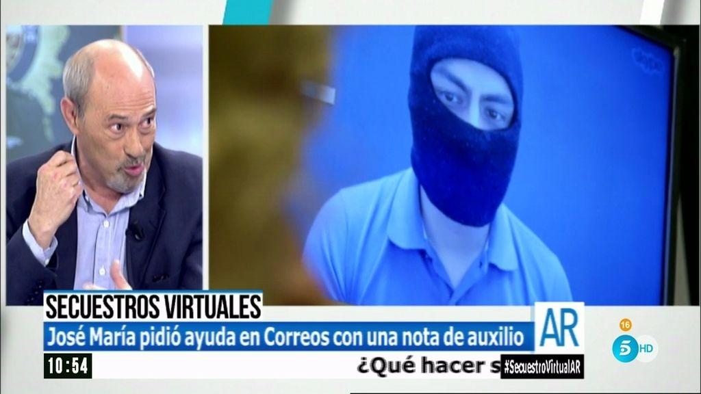 """José María fue víctima de un secuestro virtual: """"Pedían 10.000 euros por mi hijo"""""""