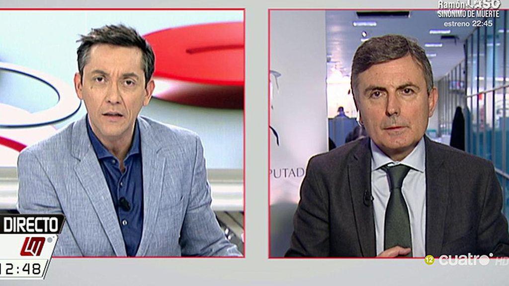 """Pedro Saura: """"Es muy grave que la Fiscalía sea el brazo armado del PP para salvar al presidente de Murcia"""""""