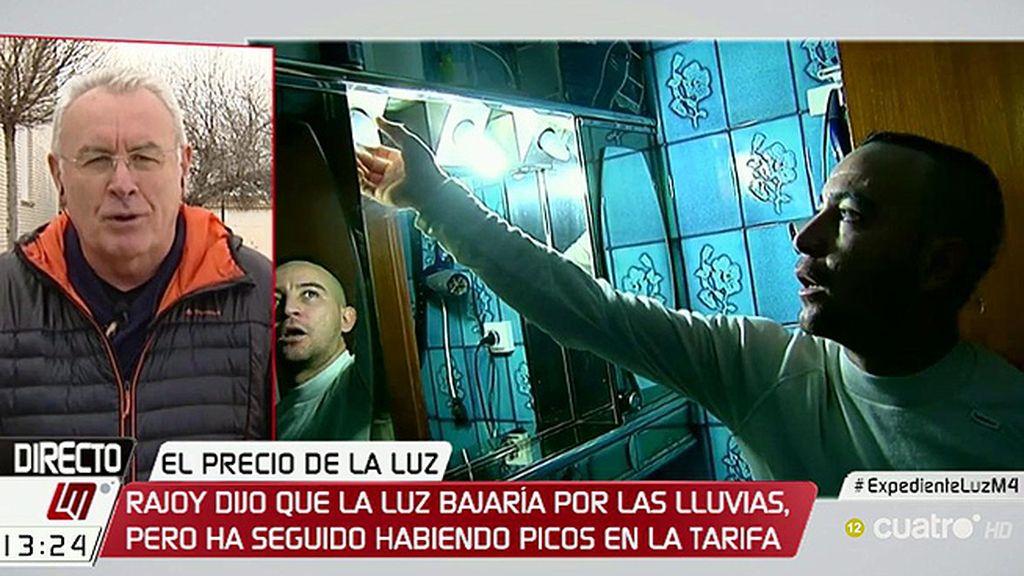"""Cayo Lara: """"Parece que Rajoy se ha convertido en el hombre del tiempo"""""""