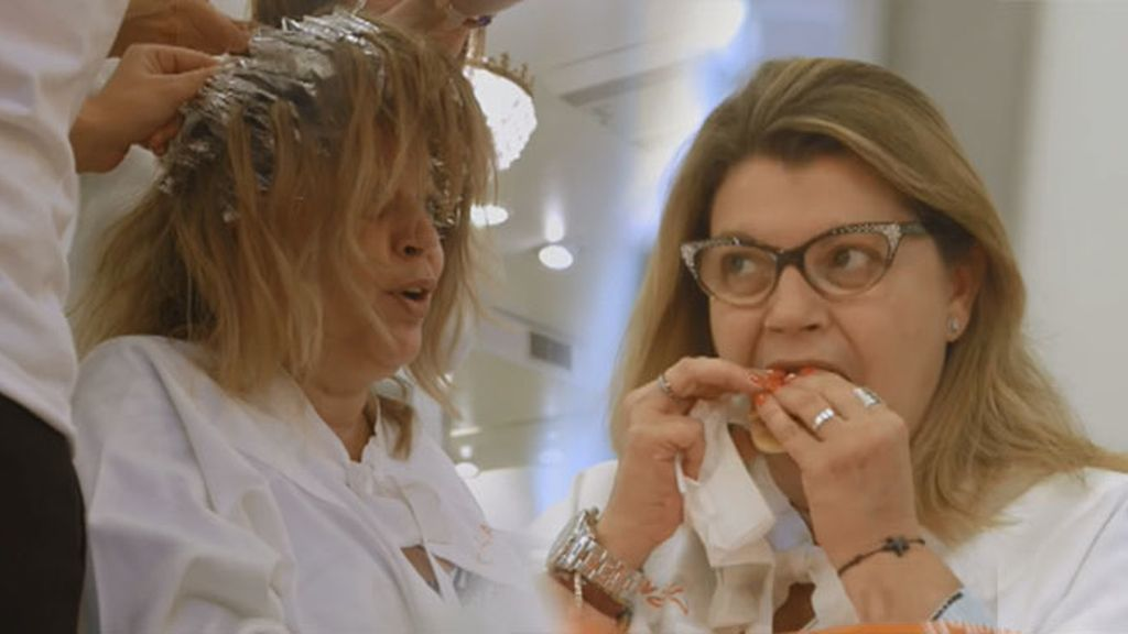 Terelu es una'eatgirl': se da mechas mientras come mediasnoches