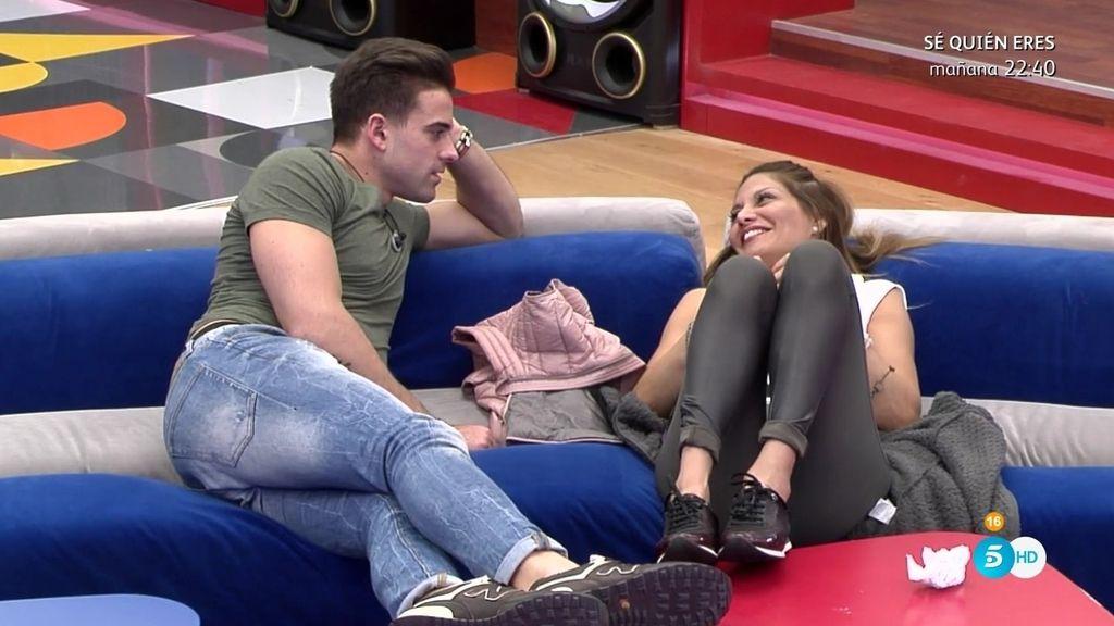 """Sergio, sobre Ivonne: """"Quiero ser yo quien la bese, no ella a mi"""""""