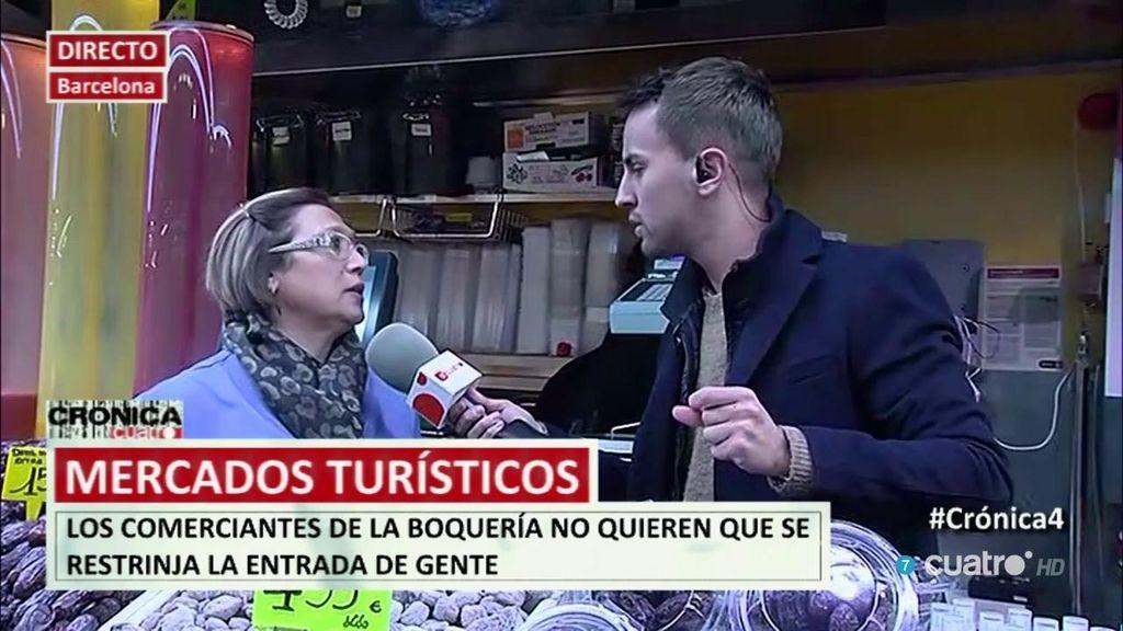 El mercado de la Boquería se rebela: no quieren que se restrinja la entrada de turistas