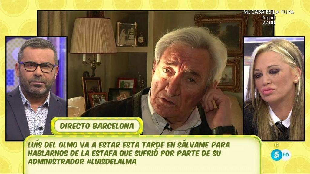 """Luis del Olmo, tras la condena a su administrador: """"Hay veces que no te puedes fiar ni de tus amigos"""""""