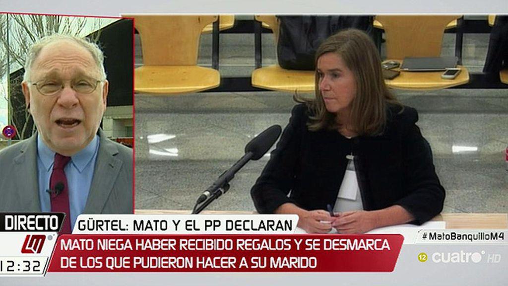 """Ernesto Ekaizer: """"Ana Mato se muestra como una persona estructurada y es increíble que no supiera nada"""""""