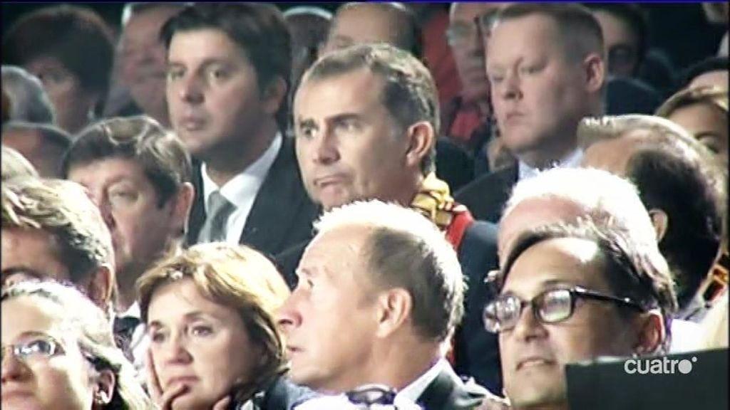 Las dos maneras de sufrir por España en un palco: Rafa Nadal vs Felipe VI