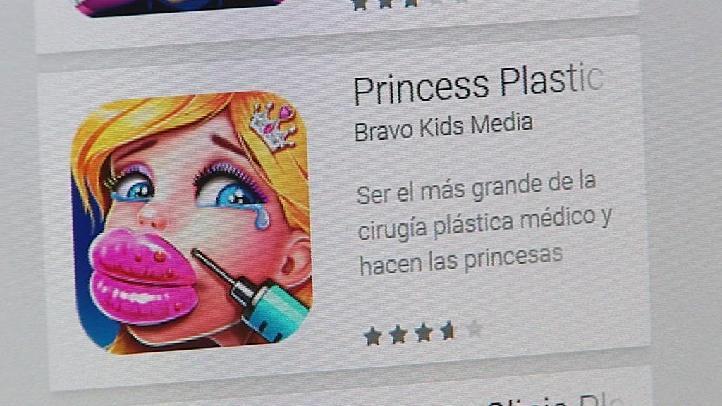 Cuando la cirugía estética es un juego: apps que incitan a operarse... ¡a niñas!