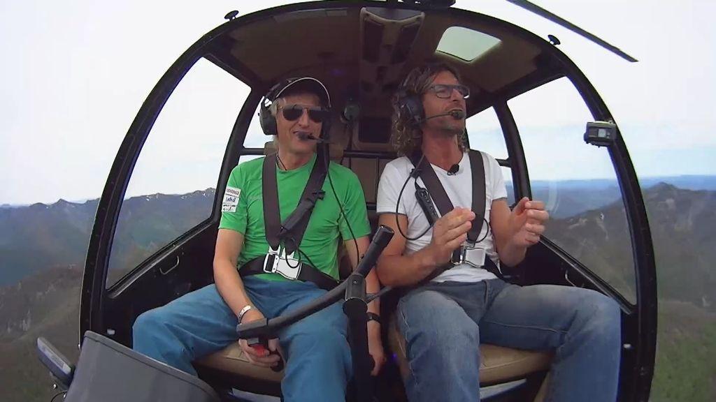 """Calleja y Pablo sobrevuelan Muniellos: """"Me río yo de Google Earth"""""""