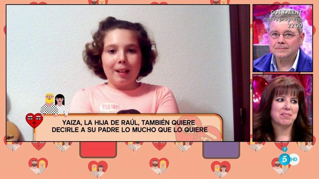 """Raúl, al escuchar a su hija:  """"Es eso lo que vale, más que otra cosa"""""""