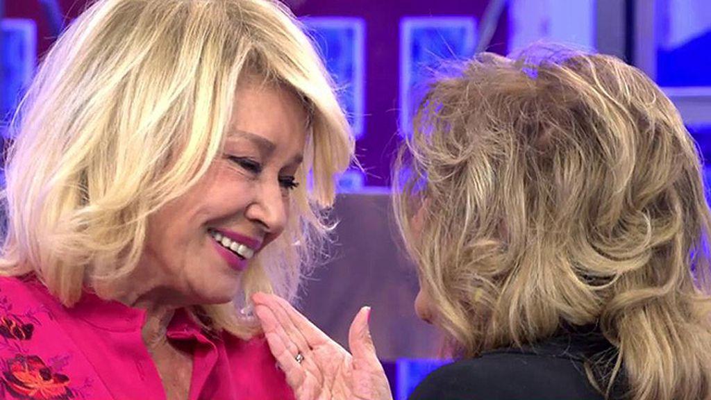 """Teresa, a Mila: """"Quiero decirte que soy muy feliz, nunca me he sentido más querida"""""""