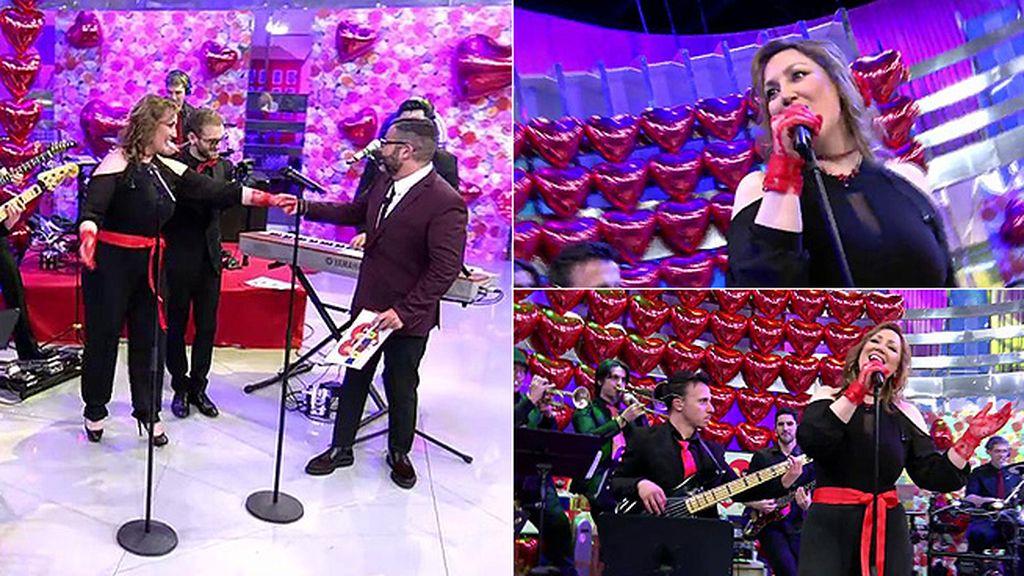 Stella Goñi pone la voz a 'Sálvame in love'