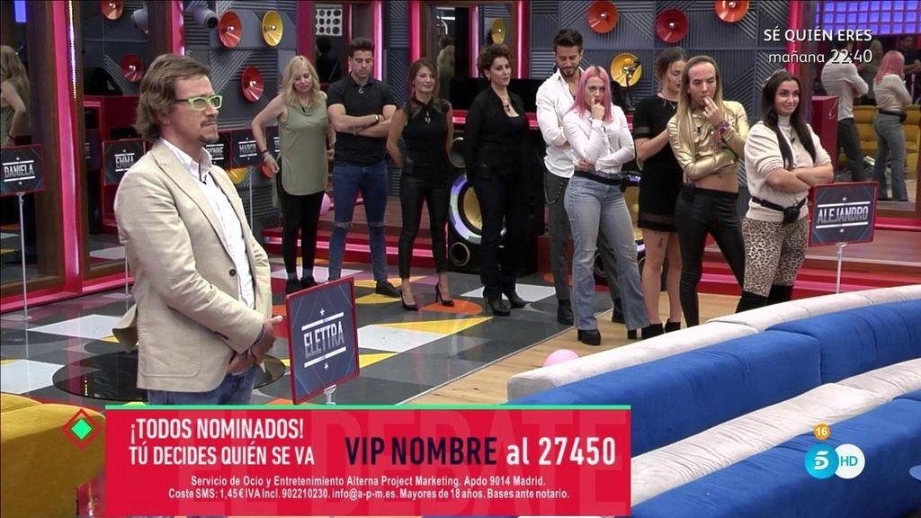 """Todos los concursantes se posicionan en contra de Alejandro Abad: """"Lamentable..."""""""