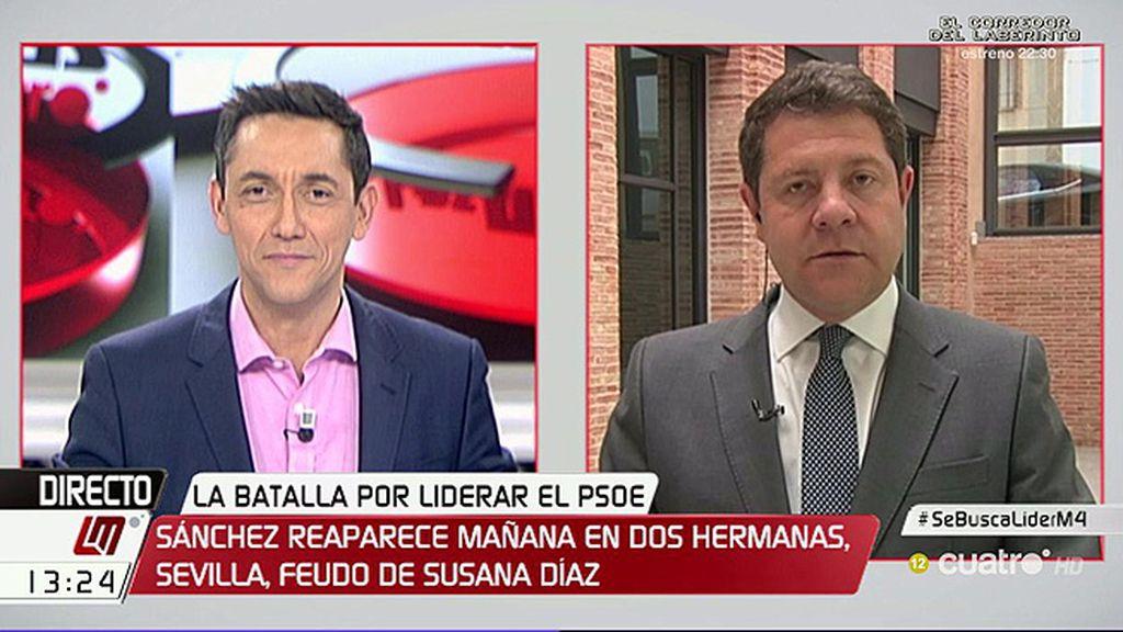 """¿Debe presentarse Susana Díaz? Page da por hecho que tiene la opción """"en la cabeza"""""""