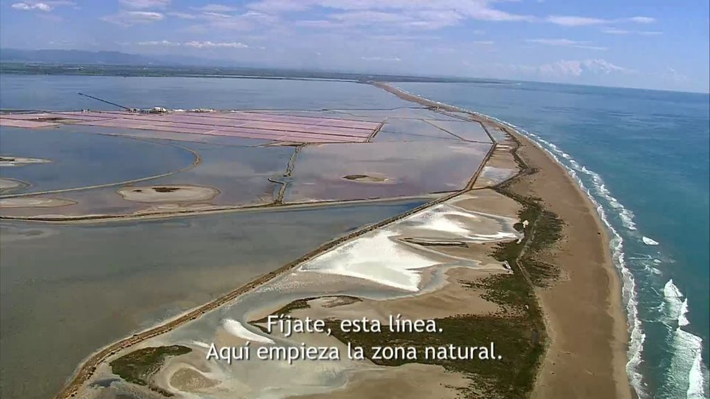 El Delta del Ebro, a vista de pájaro 🚁