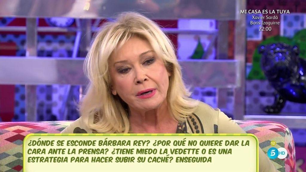 Alguien ha escrito un diario con las confidencias de Bárbara Rey, según Mila Ximénez