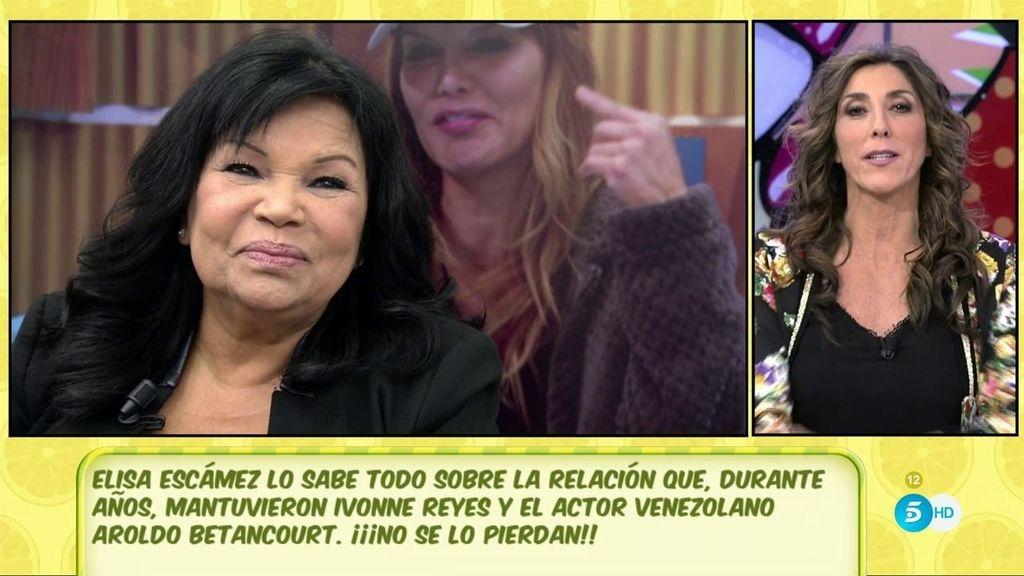 """Elisa Escámez: """"Aroldo tuvo una relación con Ivonne Reyes durante dos años"""""""