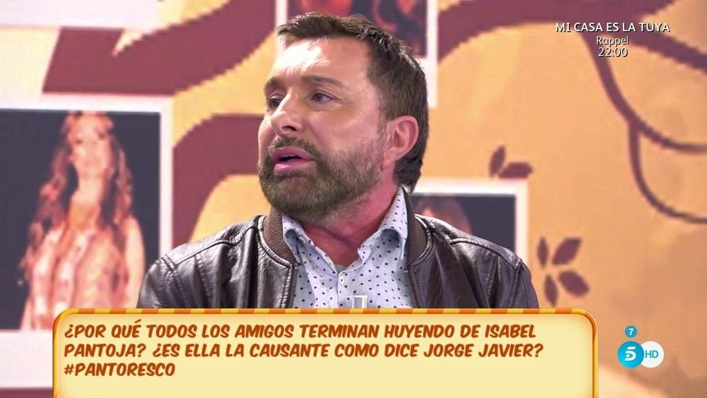 "J. Manuel Parada, de Isabel Pantoja: ""Por programa cobraba 10 millones de pesetas"""
