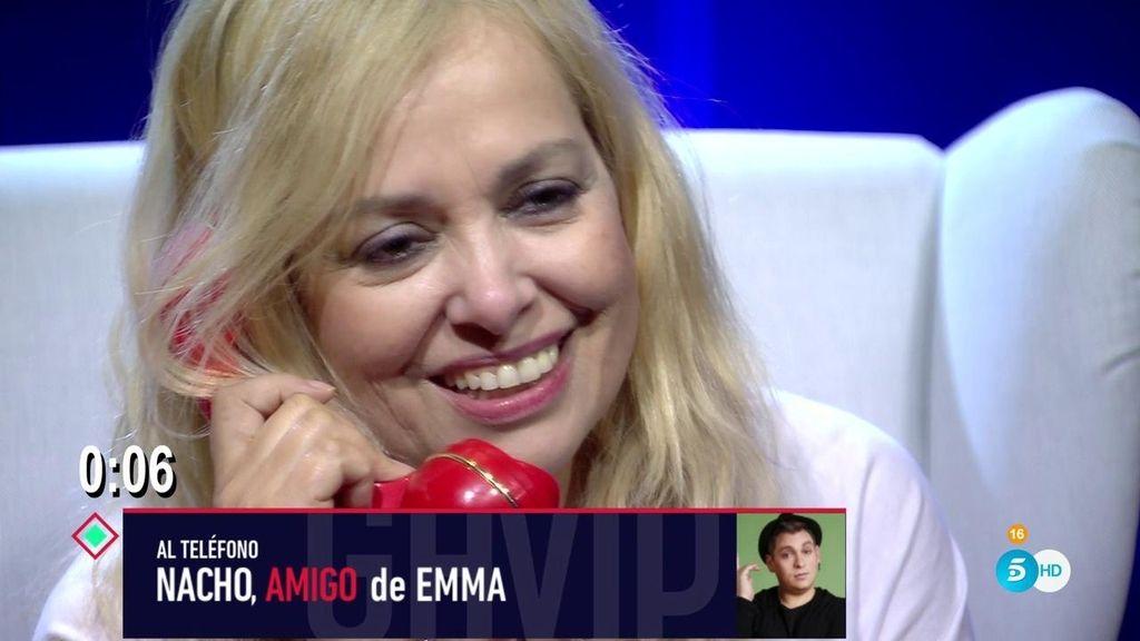 La divertidísima sorpresa de Emma Ozores
