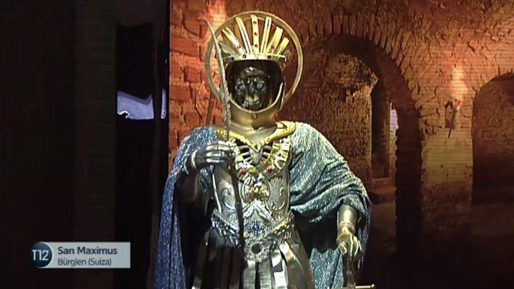 El fantasma del mártir San Maximus se aparece en forma de gato por la iglesia