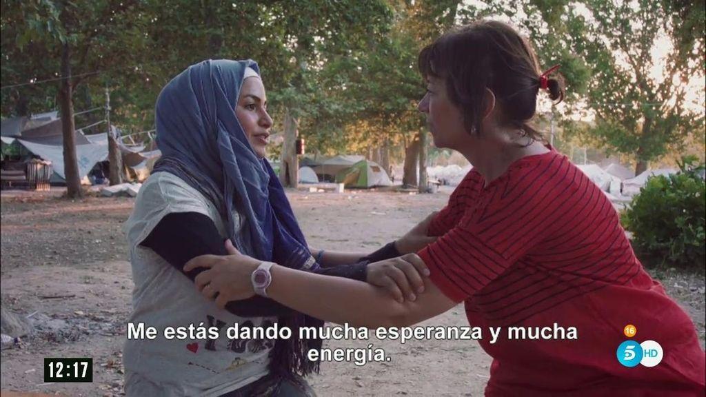 'La niña bonita', la historia de dos refugiadas unidas por la esperanza