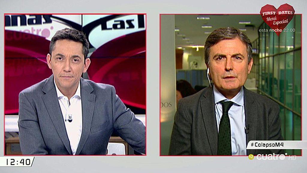 """El PSOE pide explicaciones al gobierno """"por la improvisación"""" y la """"falta de atención e información"""" ante la nevada"""