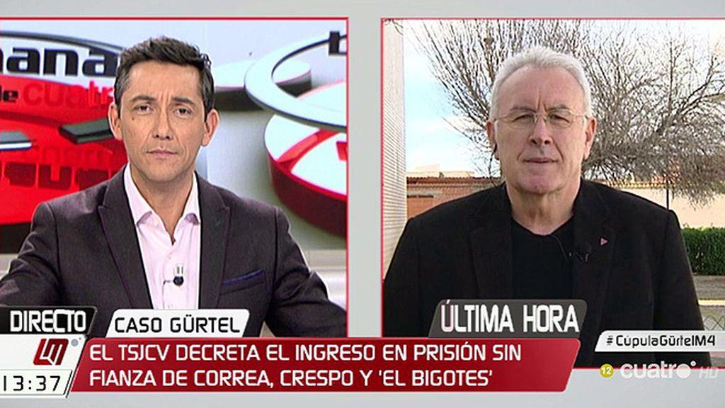 """Cayo Lara, tras la condena de Fitur: """"Caerán pájaros más gordos"""""""