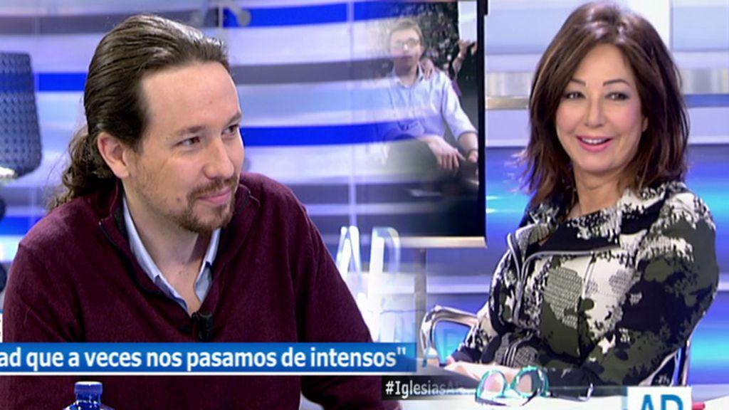 "El guiño de Pablo Iglesias a Ana Rosa: ""A mí me gustaría estar donde estás tú"""
