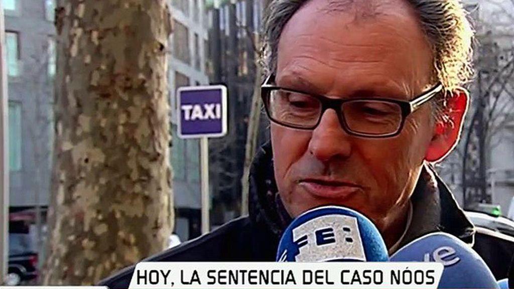 """Mario Pascual Vives, abogado de Iñaki Urdangarin: """"Esperamos lo mejor"""""""
