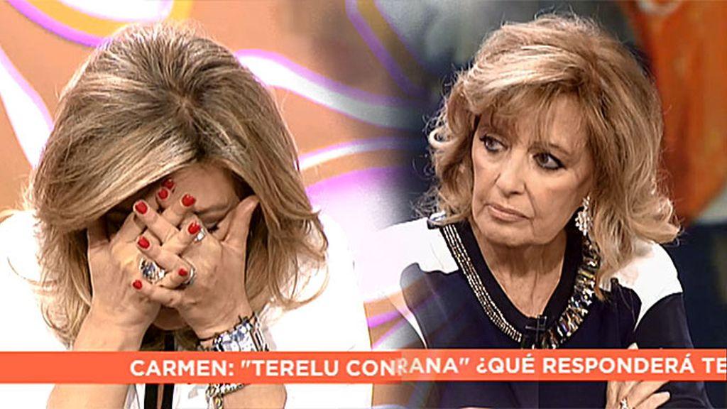 "Terelu Campos relata su horror: ""Me daba pánico que se me notara la peluca"""