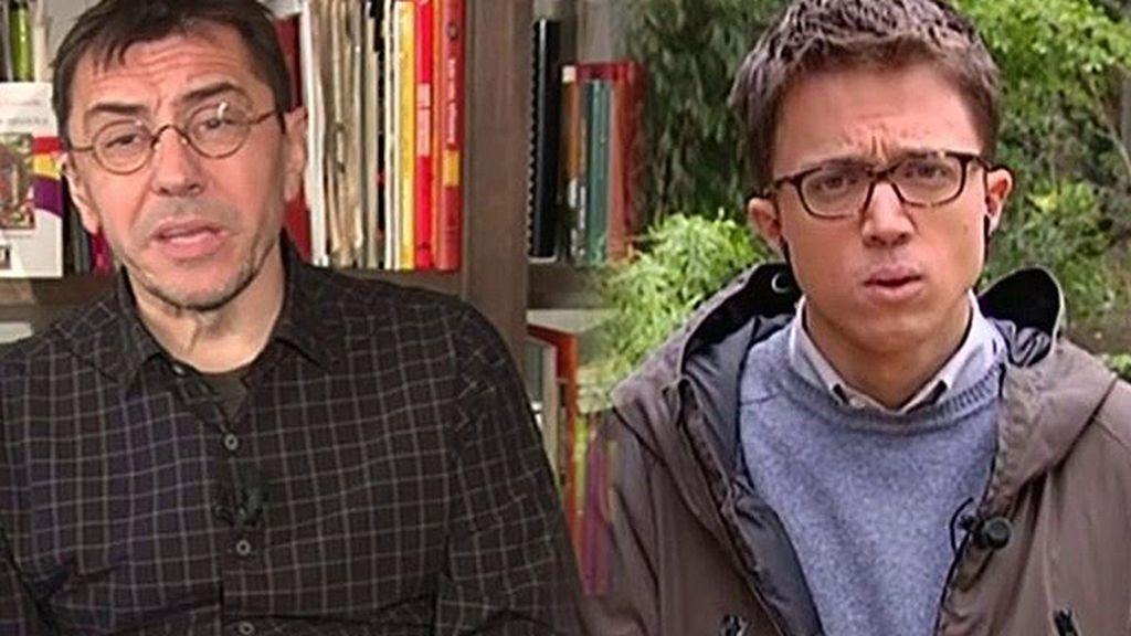 "Íñigo Errejón, sobre Juan Carlos Monedero: ""Ojalá vuelva a ser noticia por lo que dice de España y no por sembrar cizaña"""