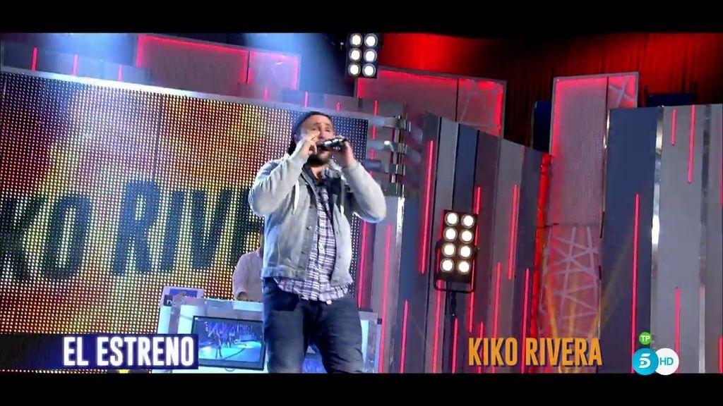 Kiko Rivera interpreta 'Sano juicio', su último éxito, en '¡QTTF!', ¡escúchalo!