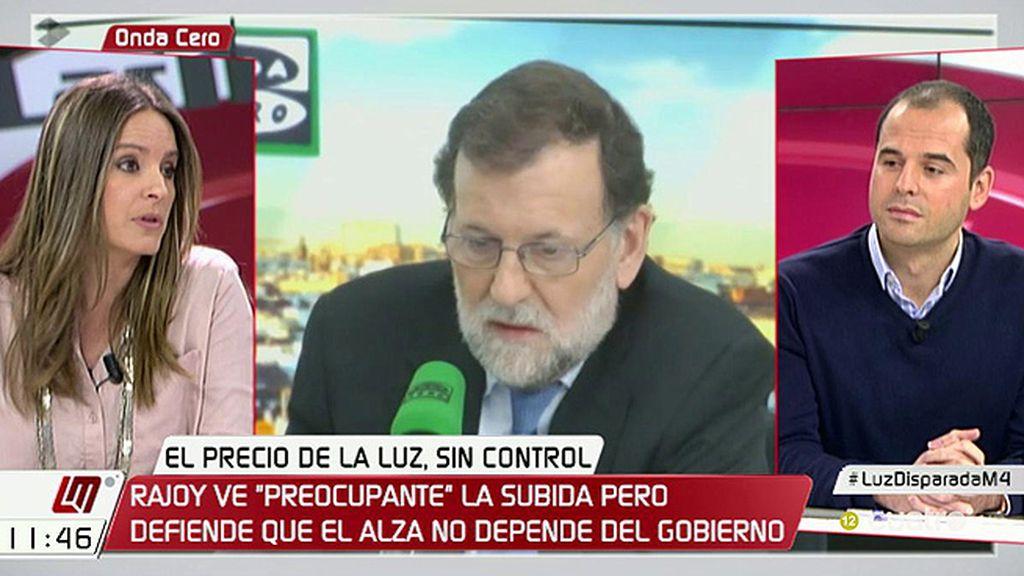 """Ignacio Aguado (C's), sobre el precio de la luz: """"Mirar al cielo y esperar a que llueva lo hacían los mayas"""""""