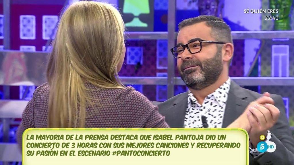Belén Esteban y Jorge Javier, bailando al son de Isabel Pantoja