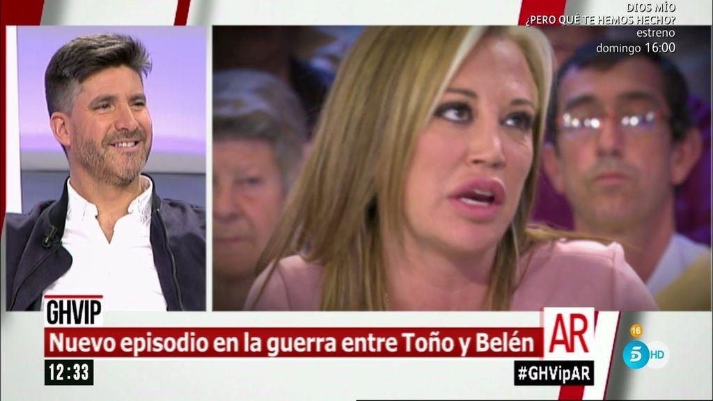"Toño, de Belén Esteban: ""Esta señora sigue 'enmierdando' como siempre"""