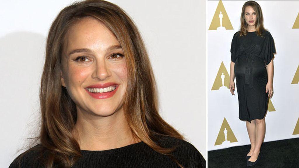 La actriz y Benjamin Millepied esperan a su segundo hijo