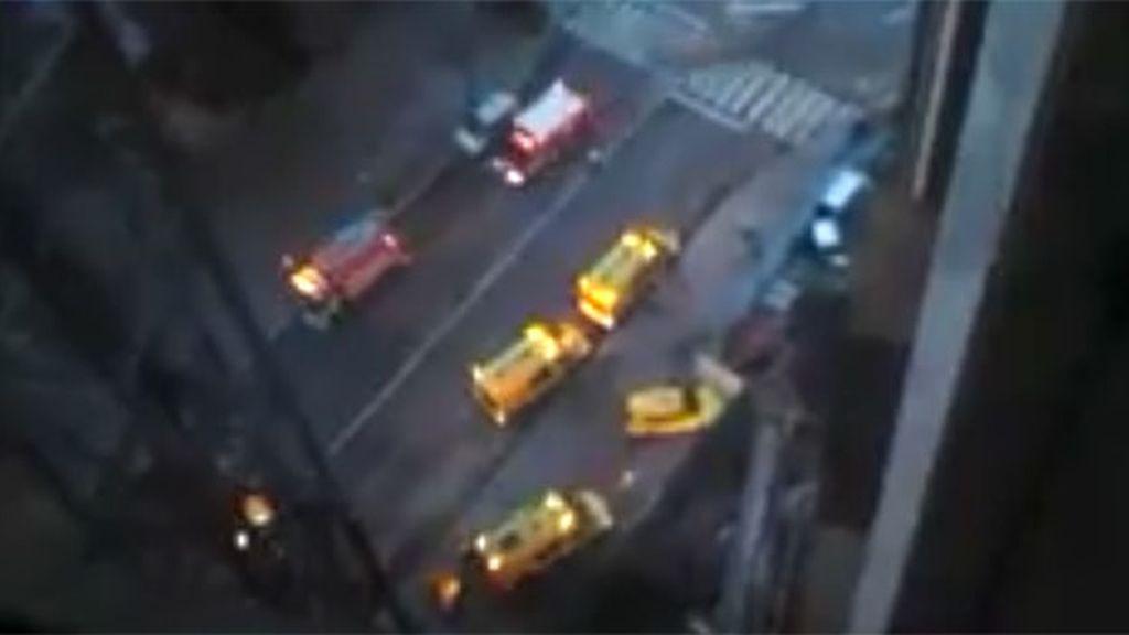 accidente Barcelona, accidente hotel princesa sofía
