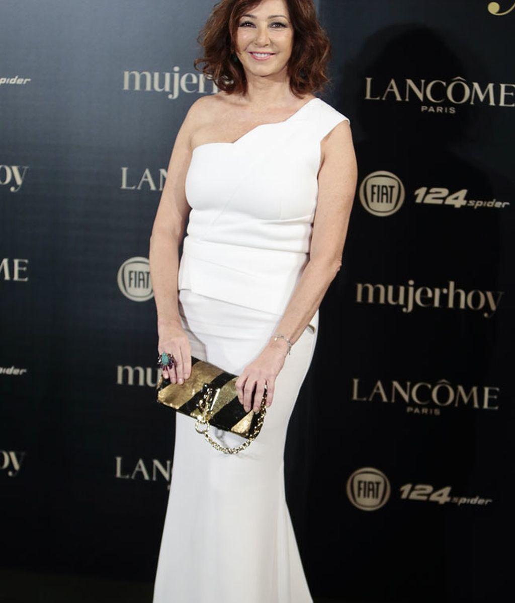 Ana Rosa Quintana fue premiada y llevó un vestido de Rolande Mouret
