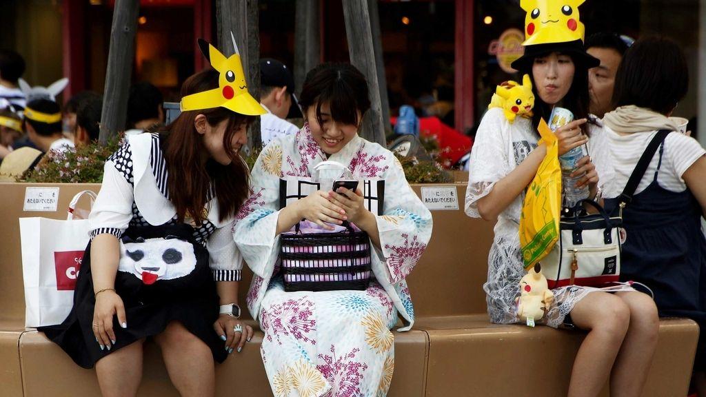 Japonesas jóvenes