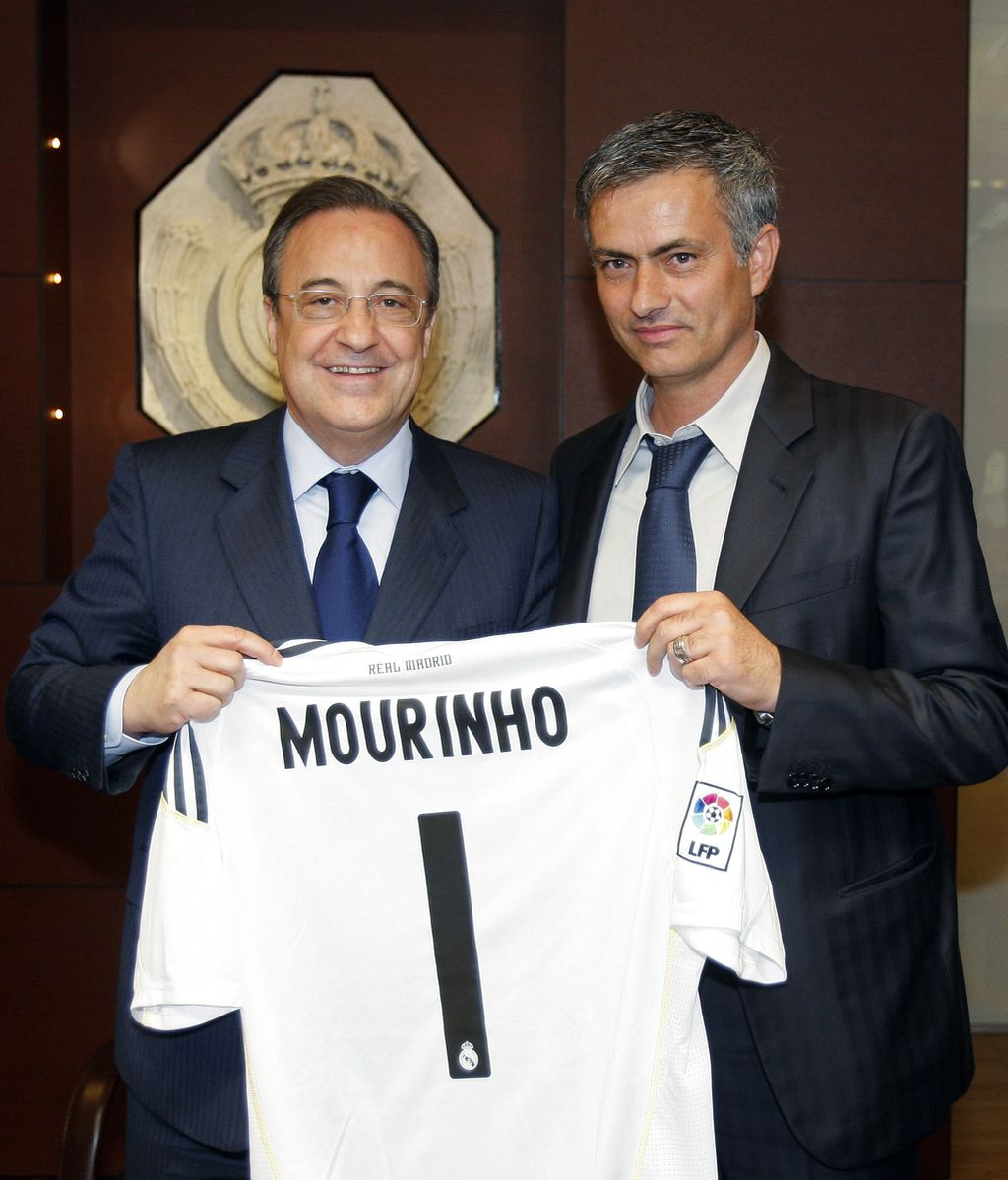 florentino y mourinho