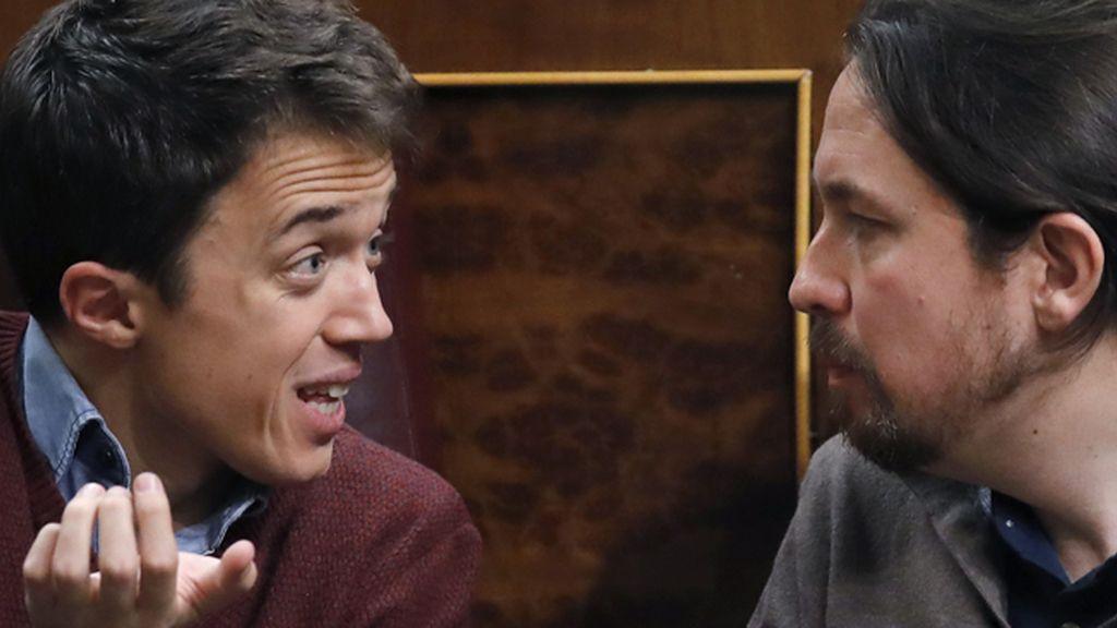 Pablo Iglesias y Errejón, ¿discusión en el Congreso?