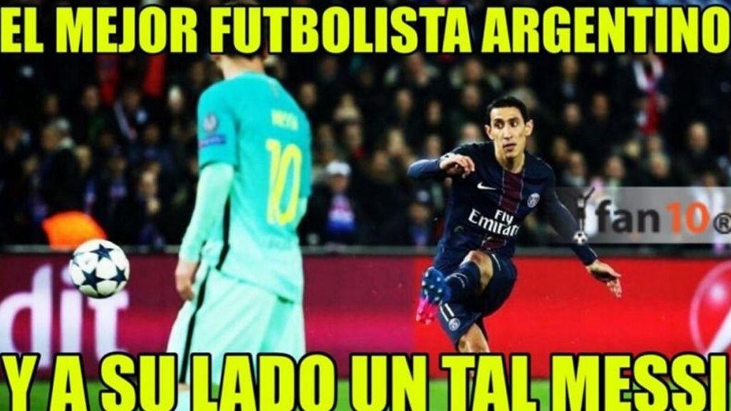 Meme PSG-Barcelona