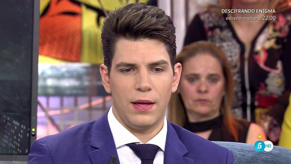 """Diego Matamoros: """"Jorge Blanco nos contaba cosas muy delicadas de Anabel Pantoja"""""""