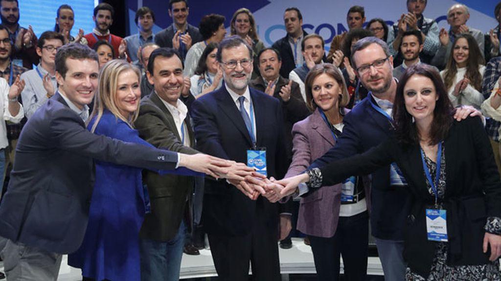 Rajoy y su equipo