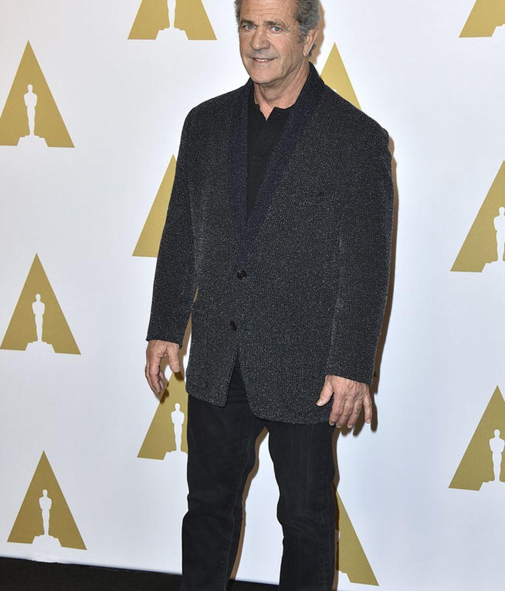 Mel Gibson apostó todo al negro