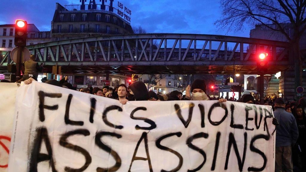 Una de las manifestaciones que se han realizado a favor de Theo