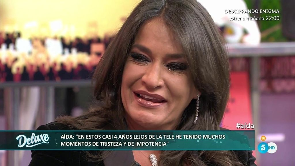 Aída Nízar relata el infierno que ha vivido tras 4 años fuera de la televisión