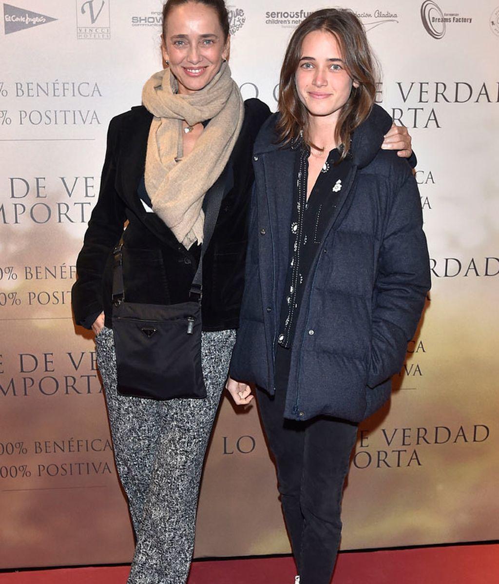 Blanca Suelves y su hija, Blanca Osorio