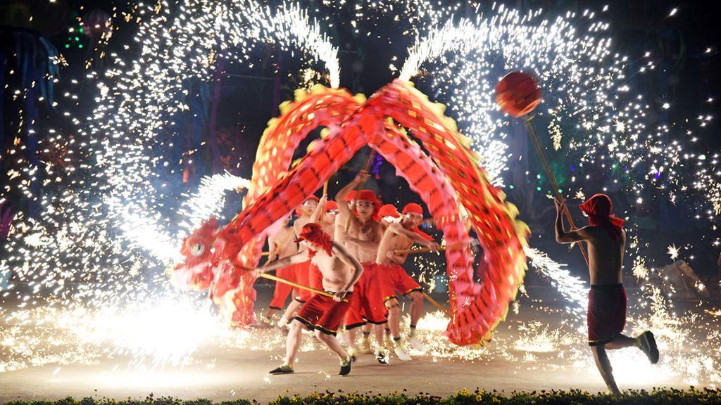 Danza del año del año nuevo chino