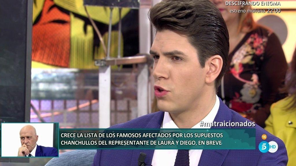 """Diego Matamoros: """"Aguanté porque no quería que me pasara lo mismo que a Laura"""""""
