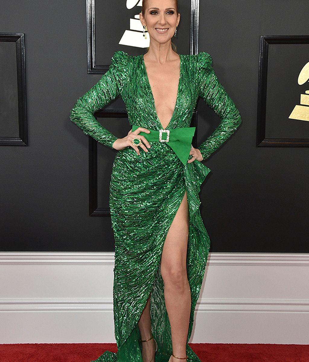 Celine Dion vestida de Zuhair Murad